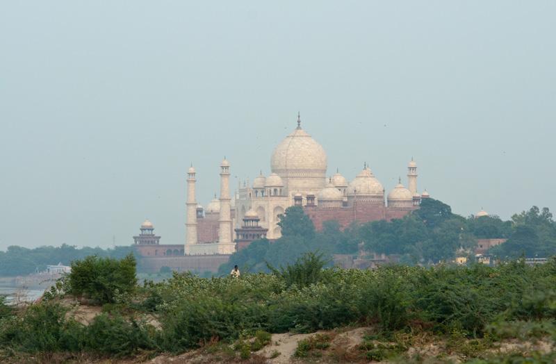 Taj Mahal from the Yamuna