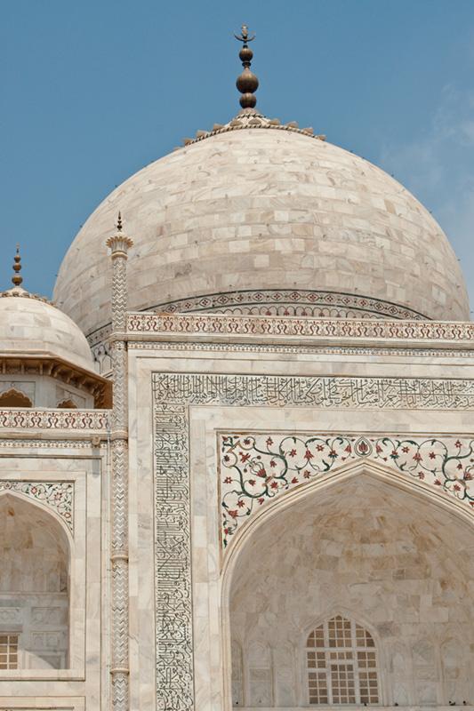 Taj Mahal (detail)