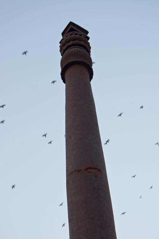 Iron Pillar at Qutub Minar